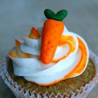 Verdens bedste gulerodscupcakes med den bedste creamcheese-frosting