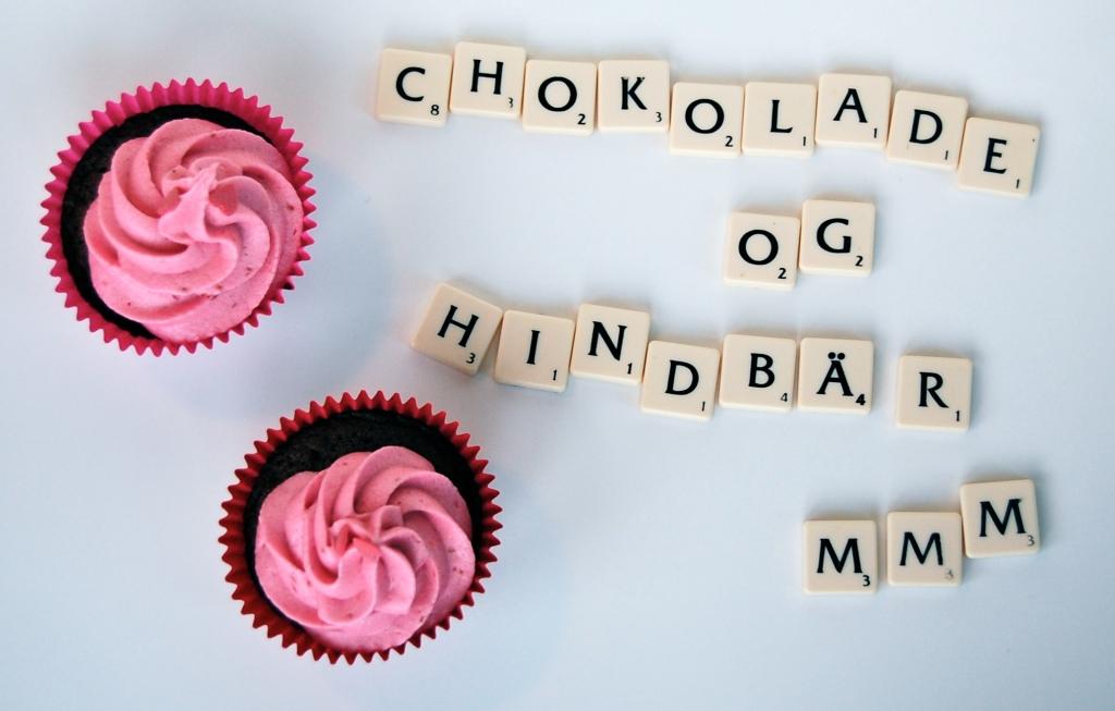 De lækreste chokoladecupcakes med hindbærfrosting