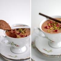 Chokolademousse med After Eight og et hint af espresso