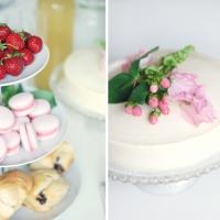 Bryllupskagetest: Den skønneste kage af hvid chokolademousse, hindbærmousse og pistaciecrunch