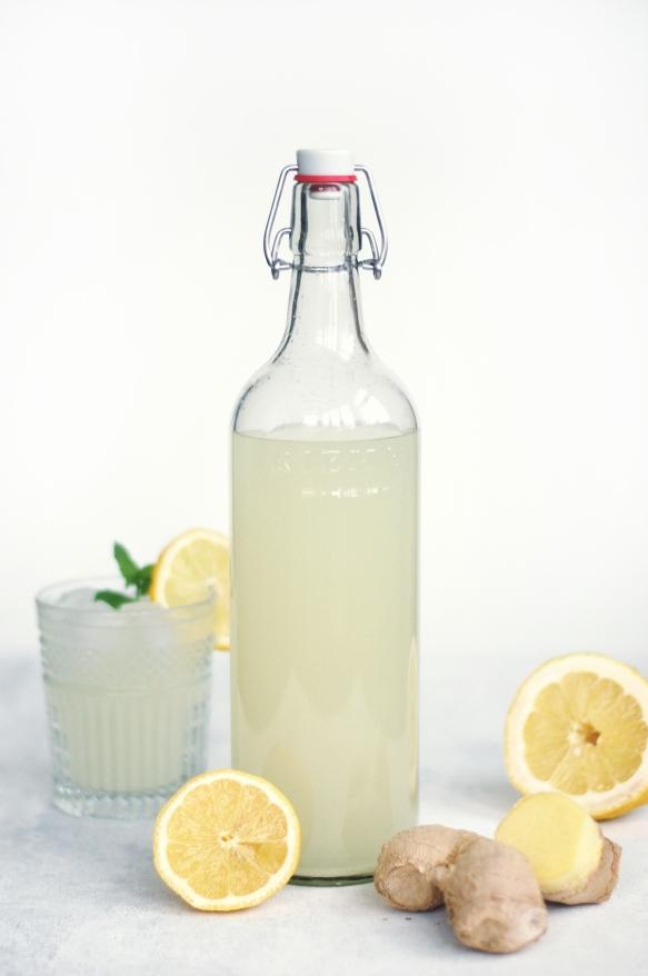 Hjemmelavet ginger ale fra copenhagencakes2